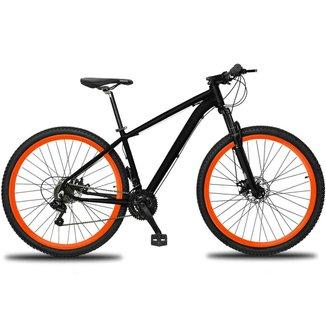 Bicicleta Aro 29 Drais Clean 24v  Câmbios Shimano Freios a Disco Alumínio MTB