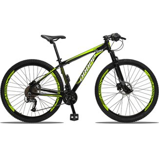 Bicicleta Aro 29 Dropp Aluminum Câmbio Traseiro Altus Shimano 27 Marchas Freio a Disco Hidráulico