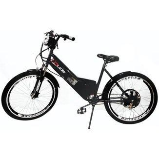 Bicicleta Elétrica 800W com Bateria de Lítio 48V 13Ah Sport Preta
