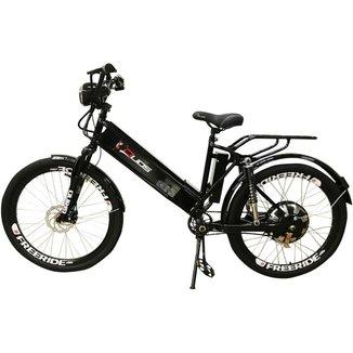 Bicicleta Elétrica com Bateria de Lítio 48V 13Ah Confort FULL Preta