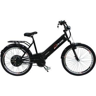 Bicicleta Elétrica com Bateria de Lítio 48V 13Ah Confort Preta