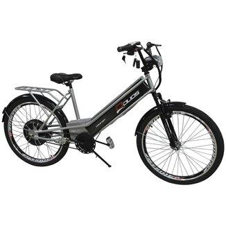 Bicicleta Elétrica Confort 800W 48V 15Ah Prata