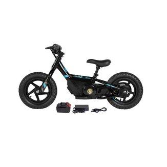 Bicicleta elétrica Infantil sem pedal equilíbrio 150W Aro 12 Expert Preto