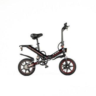 Bicicleta elétrica Mormaii Dobrável aro 14 bateria lítio 48v 10a/15a