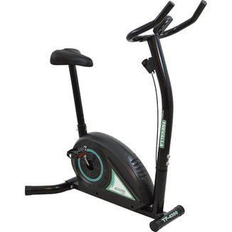 Bicicleta Ergométrica Tração Magnética 5 Funções Trevalla TF-4300 Preta