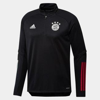 Blusa Bayern de Munique 20/21 Treino Adidas Masculina