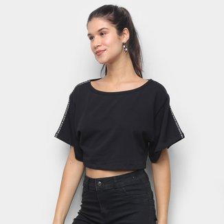 Blusa Cropped Colcci Estampada Feminina