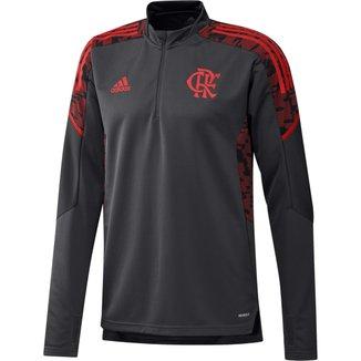 Blusa Flamengo Treino 21/22 Adidas Masculina