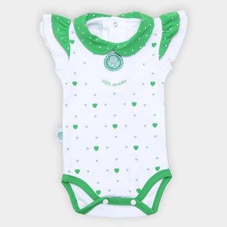 Body Bebê Palmeiras Cotton Coração