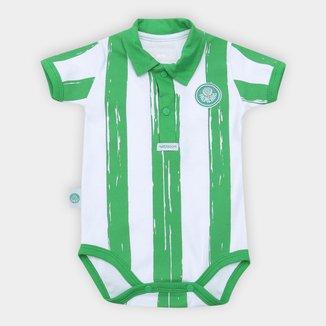 Body Bebê Palmeiras Listras Craqueladas
