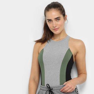 Body Colcci Fitness Canelado Feminino