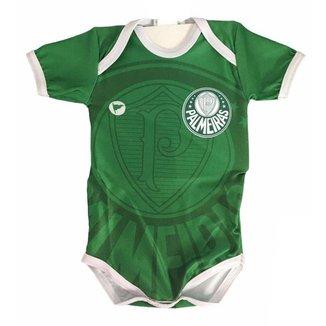 Body Polo Torcida Baby Palmeiras c/ Proteção UV 033 XS Infantil