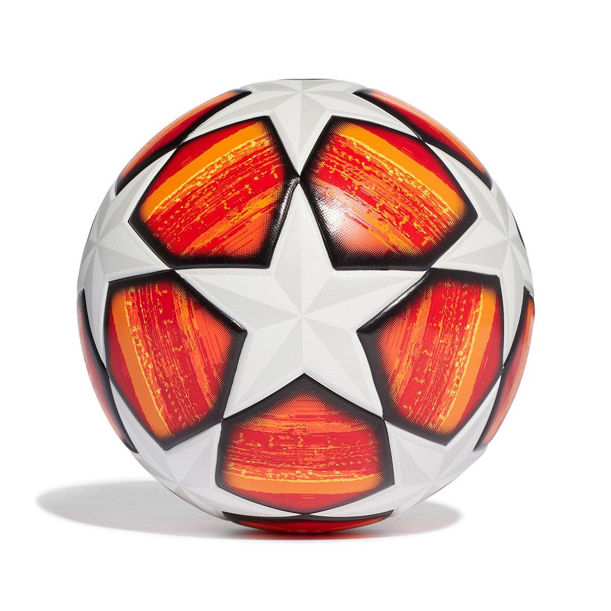 cd1d2edff4f58 Bola de Futebol Campo Adidas Uefa Champions League Finale 19 Replique Top  Train - Branco e Vermelho