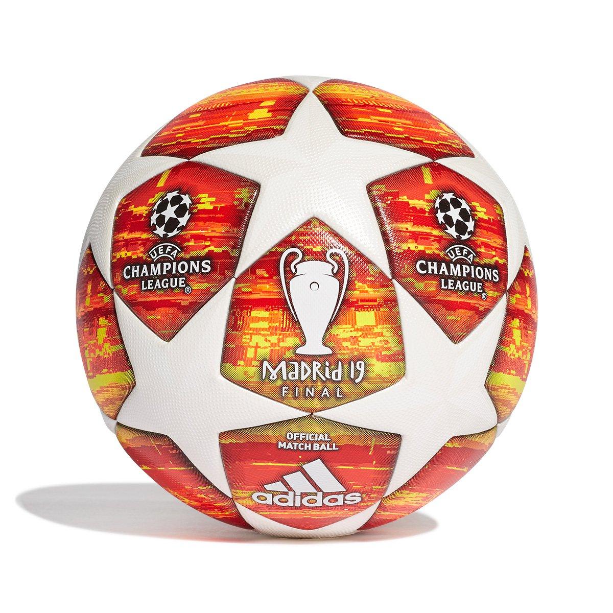 a41318172a239 Bola de Futebol Campo Adidas Uefa Champions League Finale 19 - Branco e  Vermelho - Compre Agora
