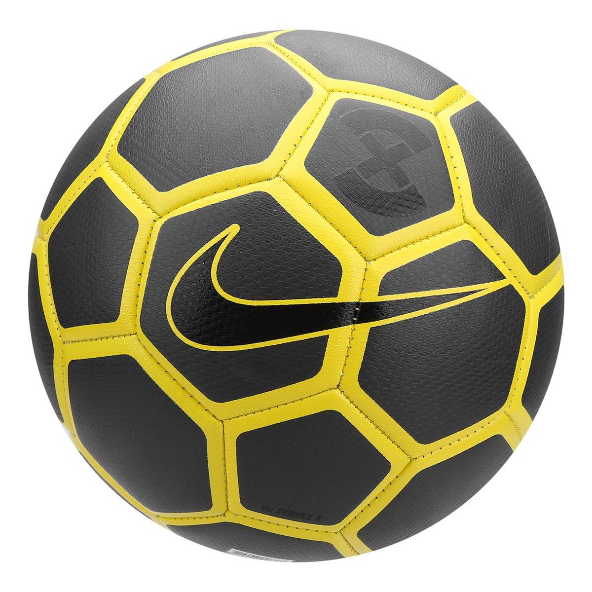 ad0adfe34 Bola de Futebol Campo Nike Strike X - Amarelo e Preto - Compre Agora ...