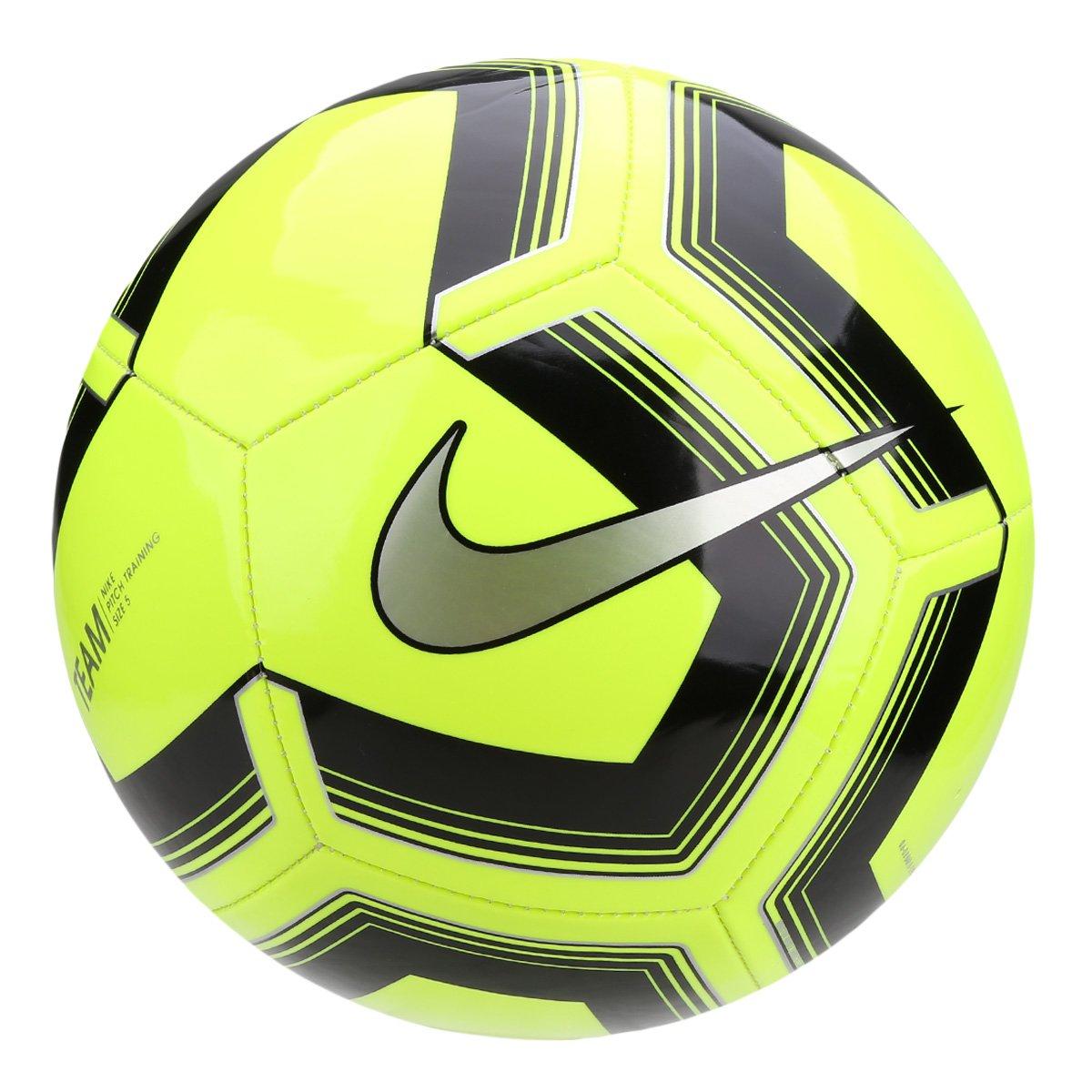 2cef3ace4ee61 Bola de Futebol Campo Nike Train Pitch II - Preto e Prata - Compre Agora