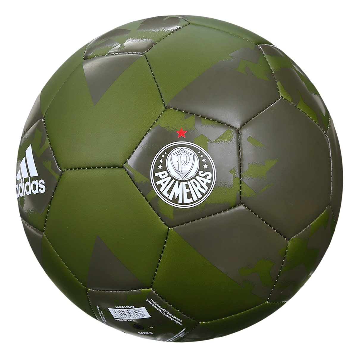 Bola de Futebol Campo Palmeiras Adidas X - Compre Agora  1acac2ea6602f