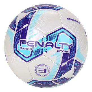 Bola de Futebol Campo Penalty Storm N3 XXI