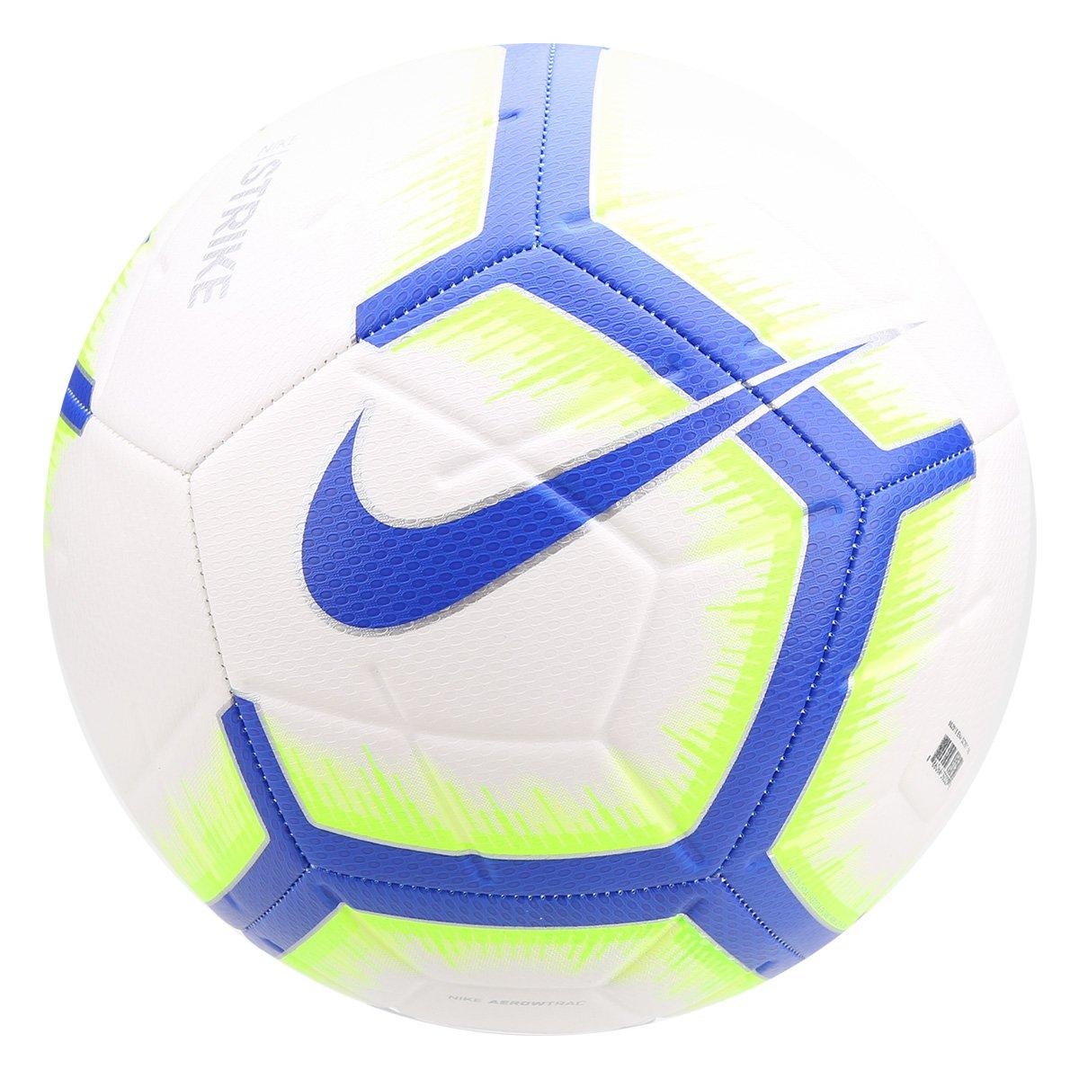 109251aea Bola de Futebol Campo Réplica Brasil CBF Nike Strike - Branco e Azul -  Compre Agora