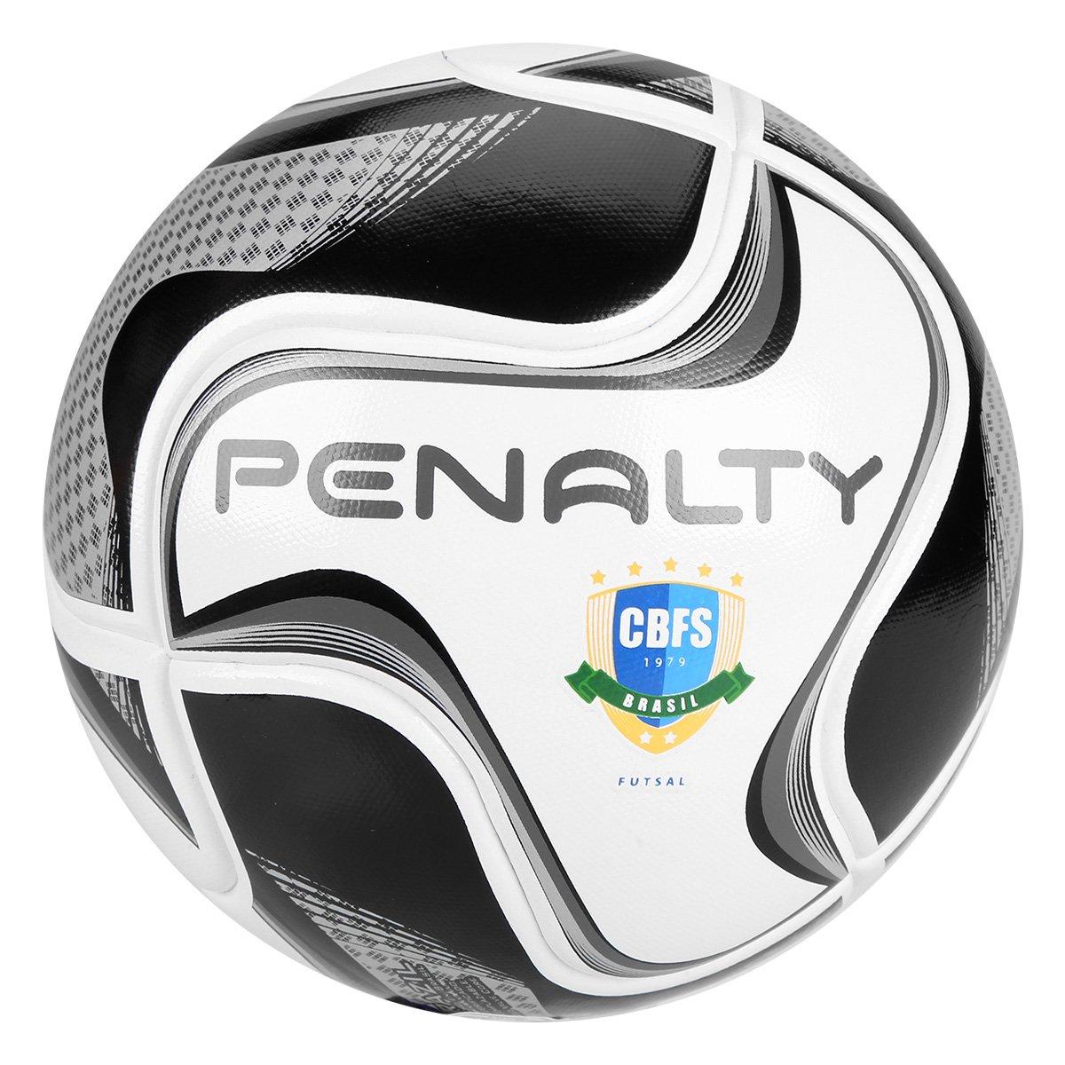 Bola de Futsal Penalty Max 100 All Black - Edição Limitada - Branco ... d5dc86eea8a13