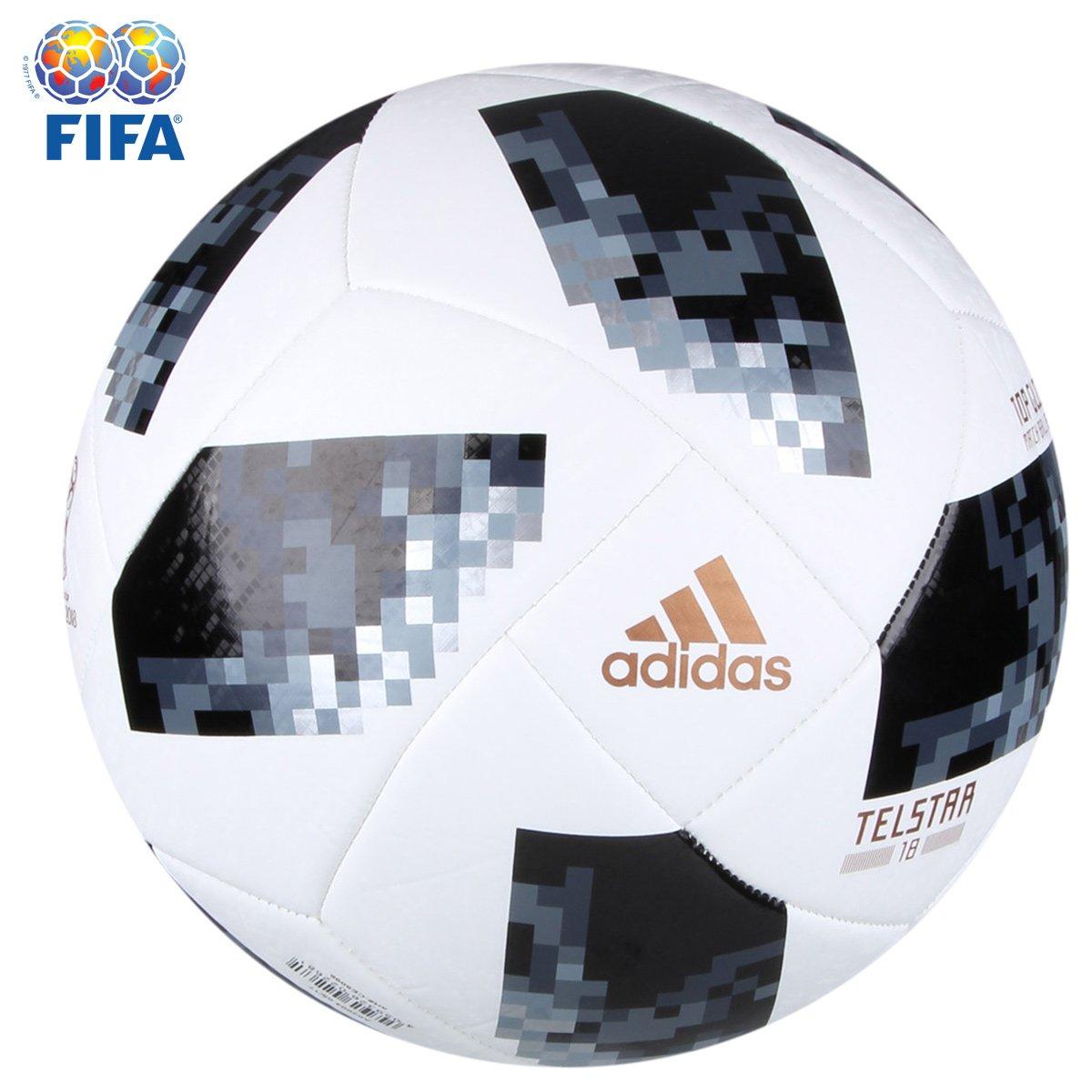 489b51918c960 Bola Futebol Campo Adidas Telstar 18 Top Glider Copa do Mundo FIFA - Branco  - Compre Agora