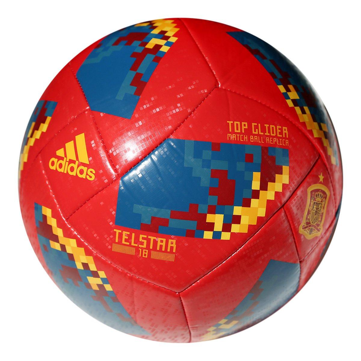 Bola Futebol Campo Adidas Telstar 18 TOP Glider Espanha Copa do Mundo FIFA  ... cc2c4892e64f6