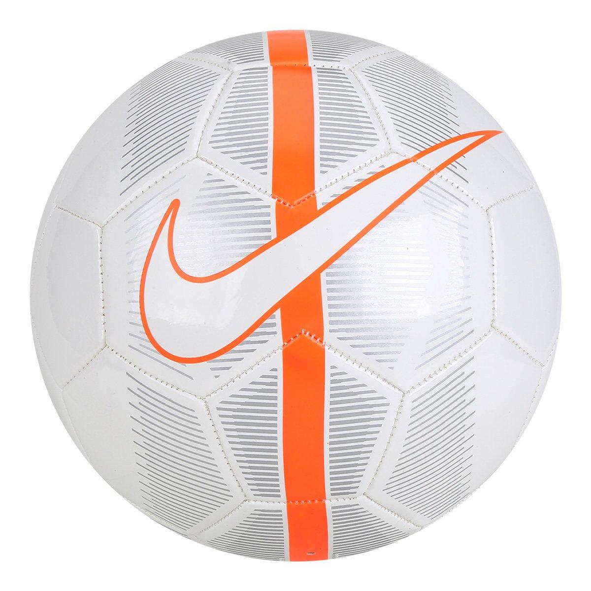 Bola Futebol Campo Nike Mercurial Fade - Branco e Cinza - Compre ... 2b691b2d9a4e6
