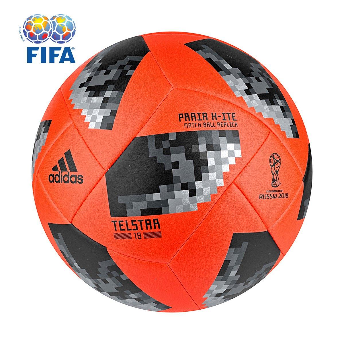 1dc4cc667 Bola Futebol de Areia Adidas Telstar 18 X ITE Copa do Mundo FIFA ...