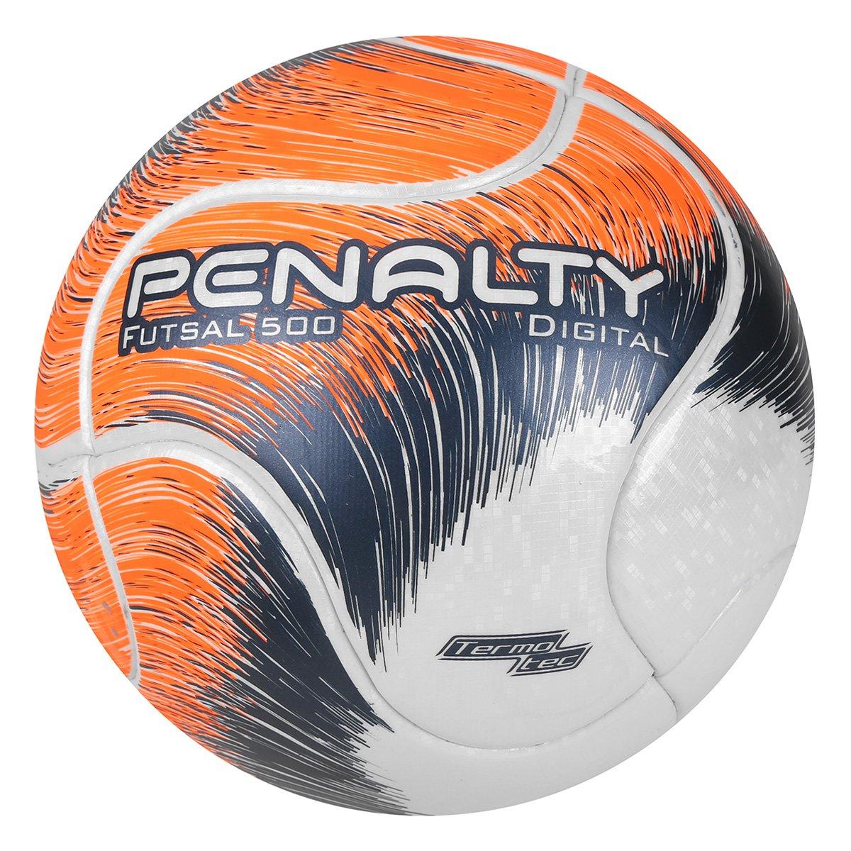 39aafb81e6805 Bola Futsal Penalty Digital 500 Termotec VIII - Branco e Laranja - Compre  Agora