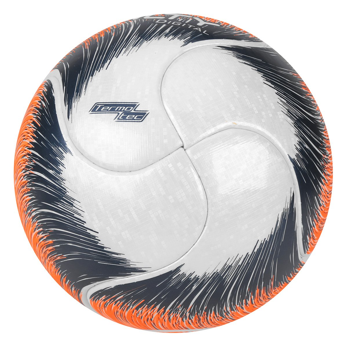 85d29cdb4a Bola Futsal Penalty Digital 500 Termotec VIII - Branco e Laranja ...