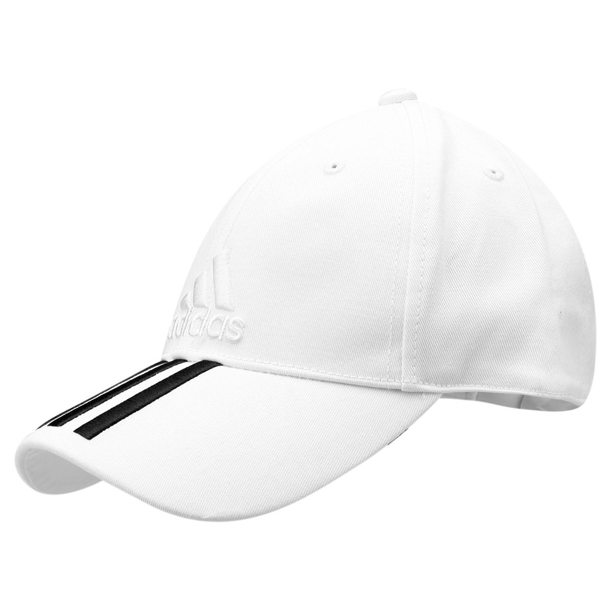 Boné Adidas Aba Curva Essential 3S Cotton - Compre Agora  ae0ed60bc60