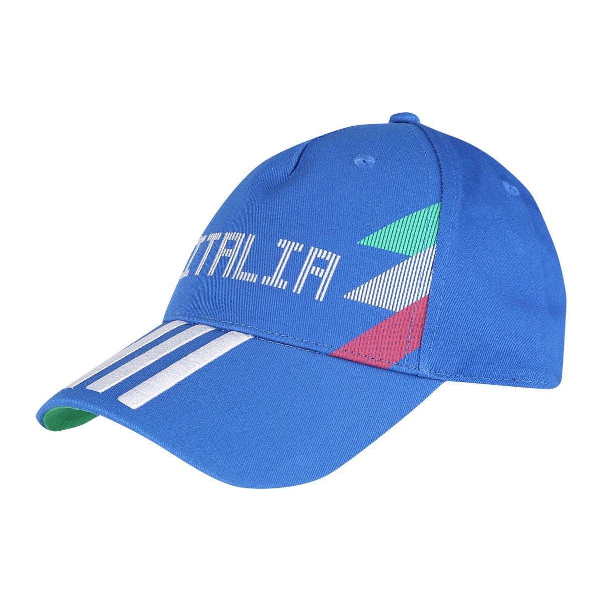 50d2342c94e9a Boné Adidas Itália 3 Stripes Aba Curva | Allianz Parque Shop