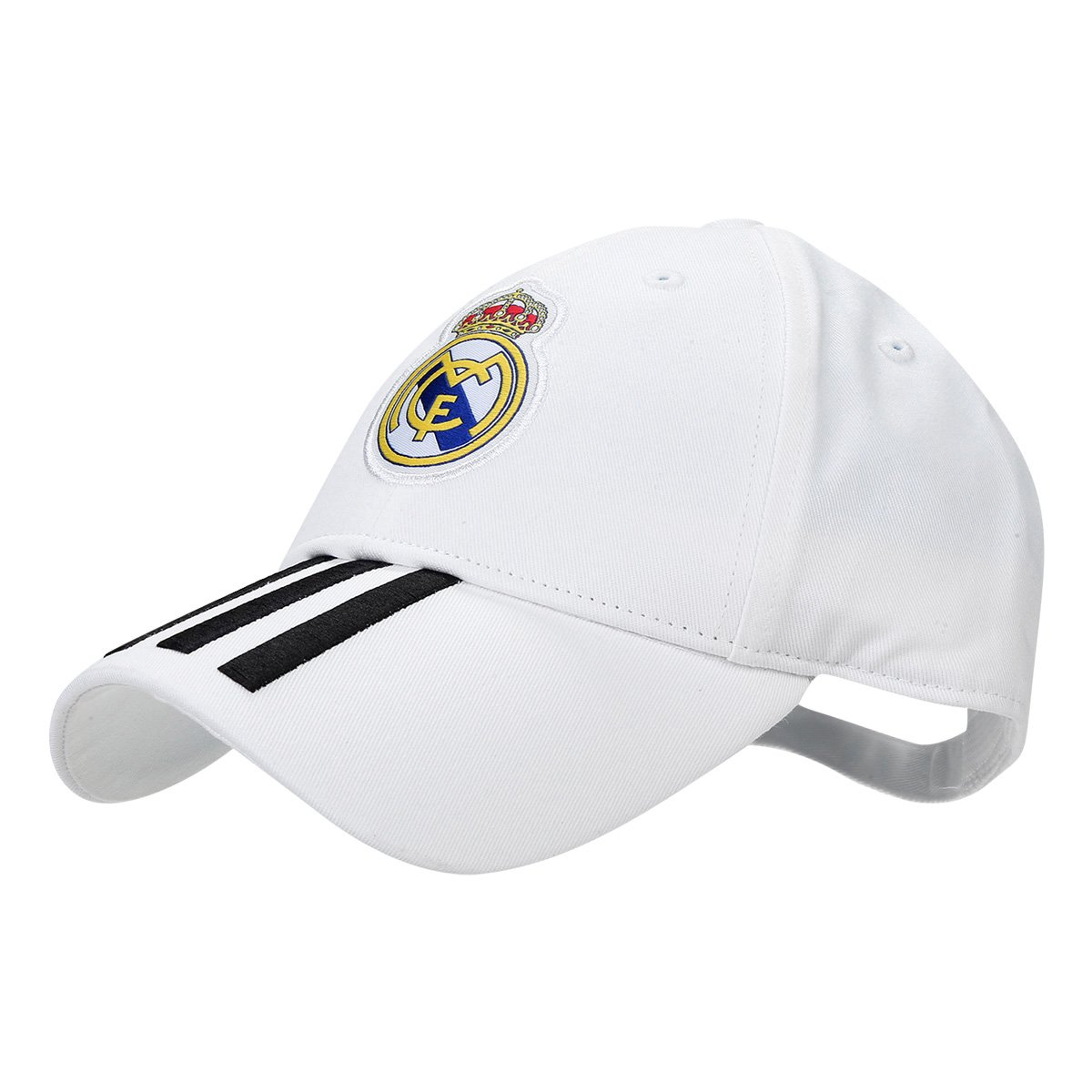 6296106cfc1b5 Boné Adidas Real Madrid 3Stripes Aba Curva | Allianz Parque Shop