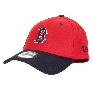 Boné New Era MLB Boston Red Sox Aba Curva Fechado 3930 Core 2Tone