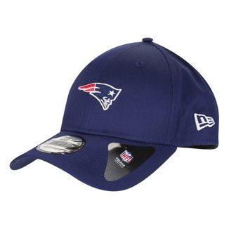 Boné NFL New England Patriots New Era Aba Curva Snapback 940