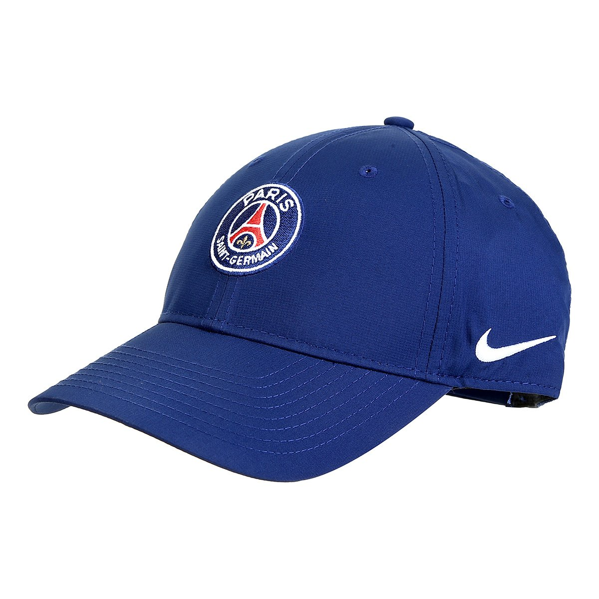 new product 1460b 80217 Boné Paris Saint-Germain Nike Aba Curva Dry L91 - Azul e Branco