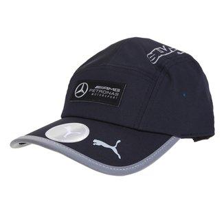 Boné Puma Mercedes Motorsports Aba Curva Strapback
