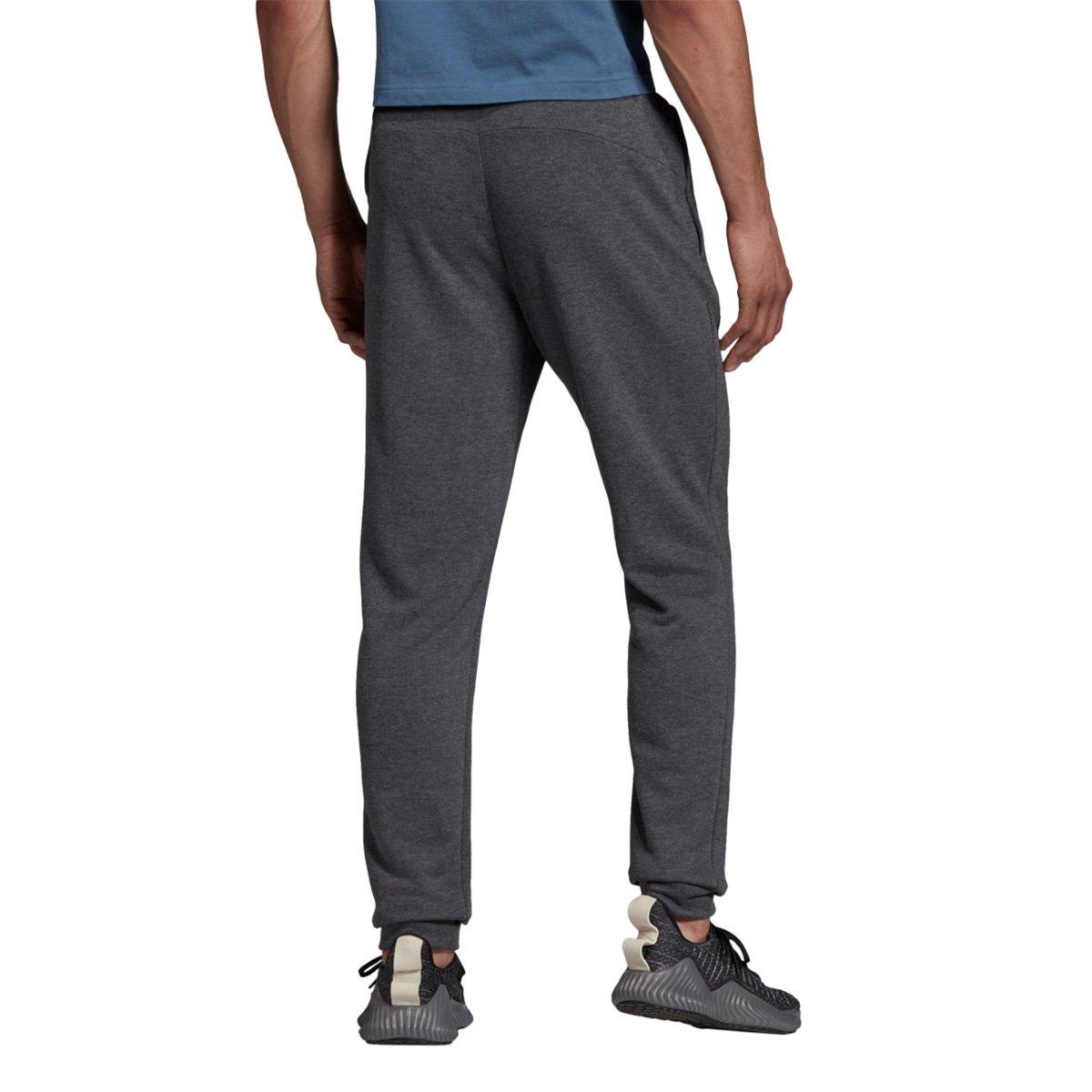 Calça Adidas D2M Knit Masculina Cinza e Preto