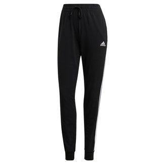 Calça Adidas Essentials 3 Listras Slim Feminina