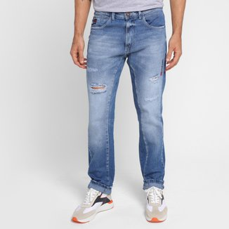 Calça Jeans Ecko Slim Masculina