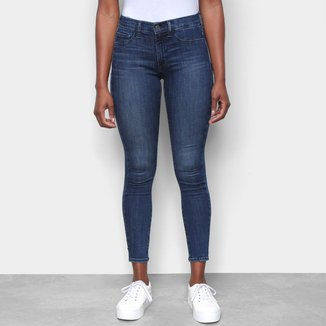 Calça Jeans GAP Fashion Curta Feminina