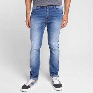 Calça Jeans Slim Ecko Estonada Masculina