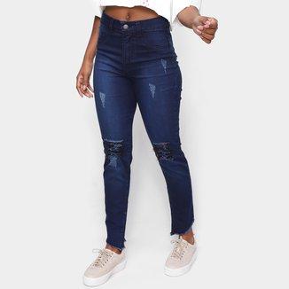 Calça Jeans Tricats Niagan Cintura Alta Feminina