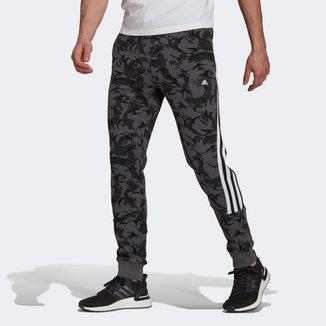 Calça Moletom Adidas Future Icon Camuflada Masculina