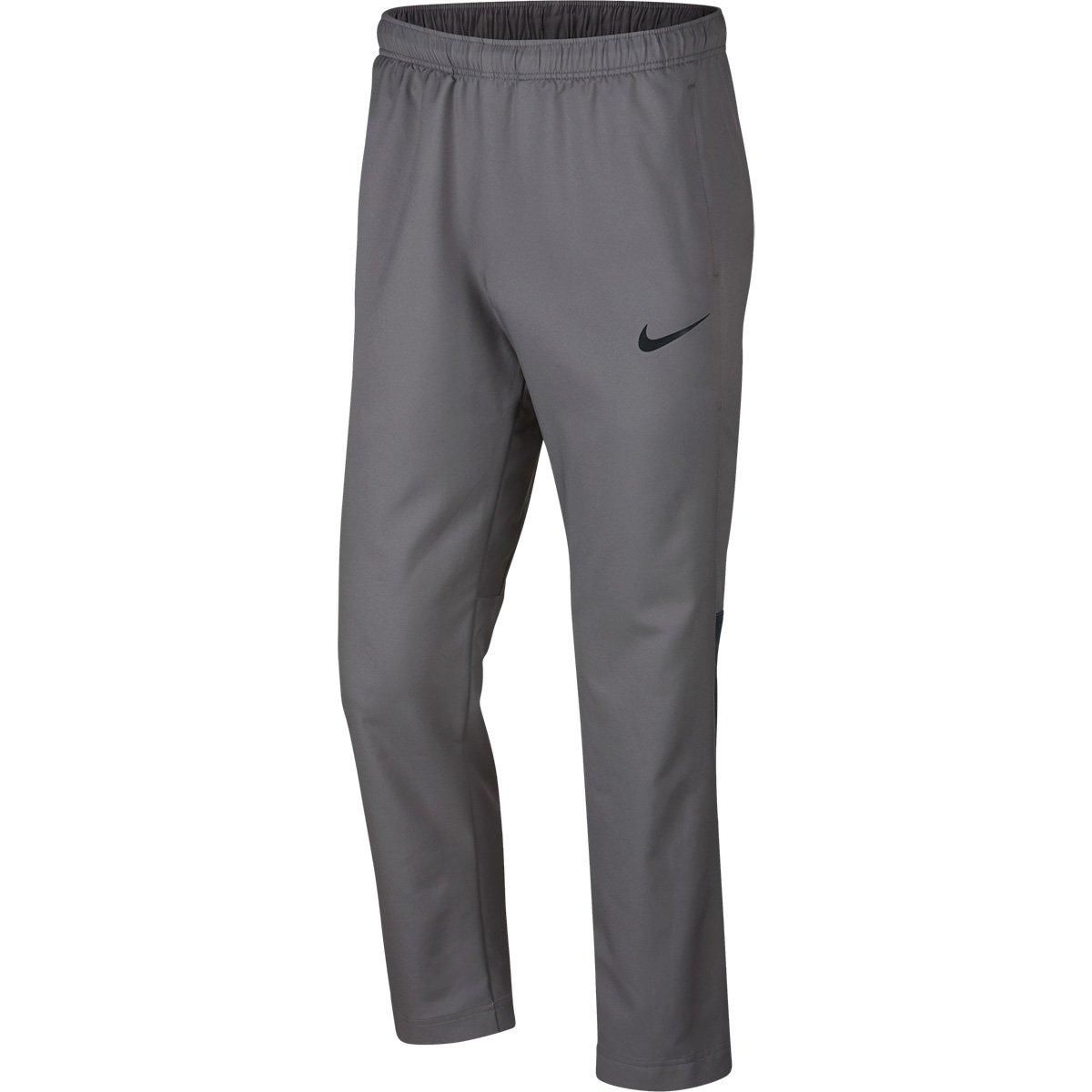 39f0c7e15e6 Calça Nike Dry Team Woven Masculina - Cinza e Preto - Compre Agora ...