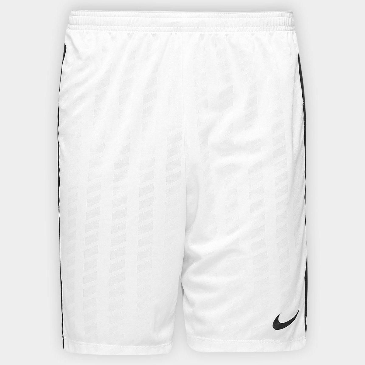 ea81d8dd91f46 Calção Nike Academy Jaq Masculino - Branco e Preto - Compre Agora ...
