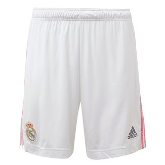 Calção Real Madrid Home 20/21 Adidas Masculino