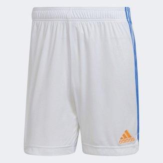 Calção Real Madrid Home 21/22 Adidas Masculino