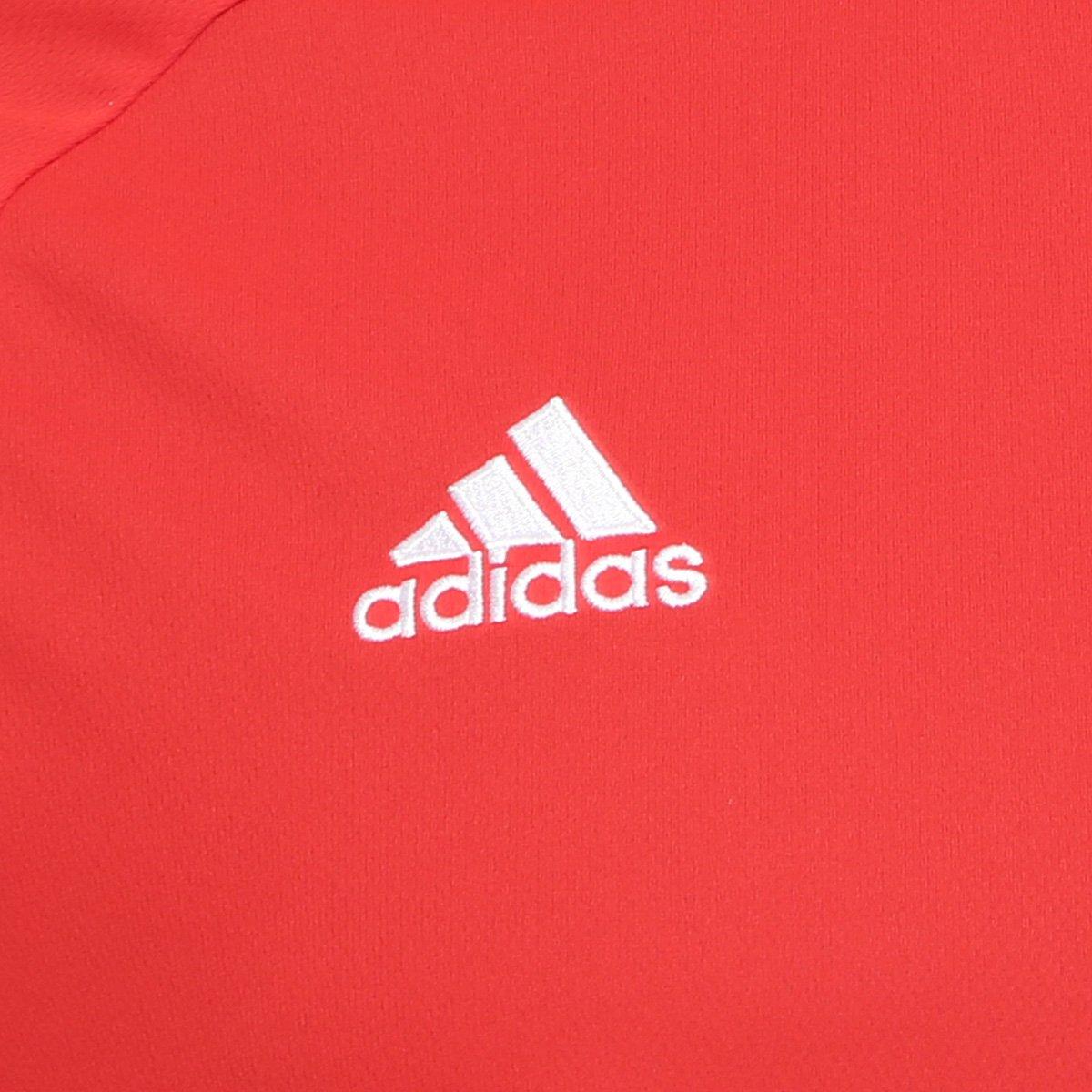 5ecc881019bc7 Camisa Adidas Estro 15 Masculina - Vermelho e Preto - Compre Agora ...