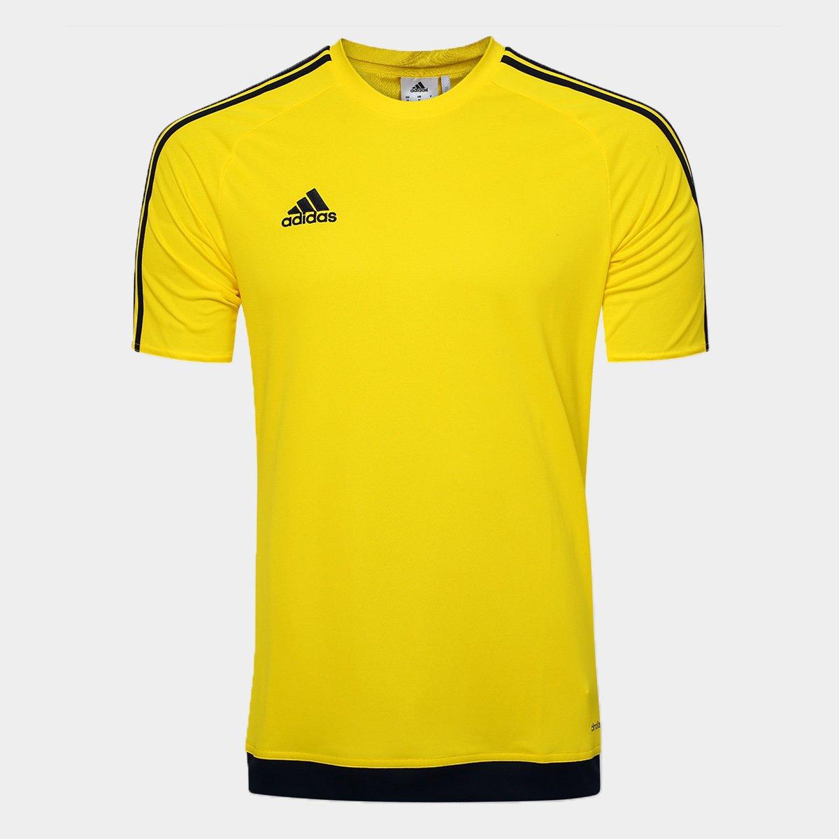 30ee0544c750d Camisa Adidas Estro 15 Masculina - Amarelo - Compre Agora